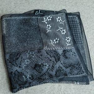 Halston Sheer Silk vintage scarf